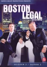Boston Legal - Seizoen 2-DVD