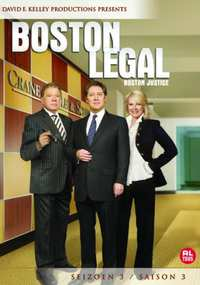 Boston Legal - Seizoen 3-DVD
