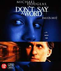 Don't Say A Word-Blu-Ray