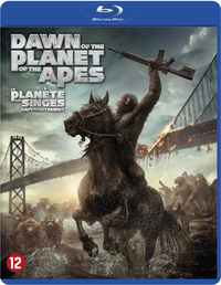 Dawn Of The Planet Of The Apes-Blu-Ray