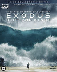 Exodus - Gods And Kings (3D En 2D Blu-Ray)-3D Blu-Ray