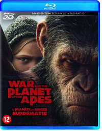 War For The Planet Of The Apes-3D Blu-Ray
