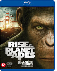 Rise Of The Planet Of The Apes-Blu-Ray