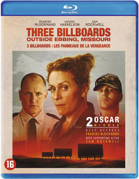 Three Billboards Outside Ebbing Missouri-Blu-Ray