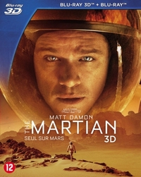 The Martian (3D En 2D Blu-Ray)-3D Blu-Ray