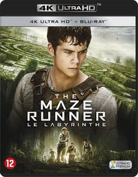 The Maze Runner (4K Ultra HD En Blu-Ray)-4K Blu-Ray