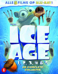 Ice Age 1-5 - De Complete Collectie-Blu-Ray