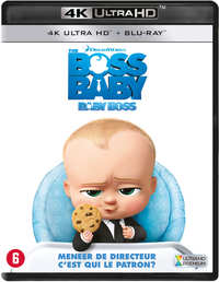 The Boss Baby (4K Ultra HD En Blu-Ray)-4K Blu-Ray