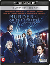 Murder On The Orient Express (4K Ultra HD En Blu-Ray)-4K Blu-Ray