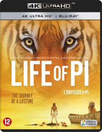 Life Of Pi (4K Ultra HD En Blu-Ray)-4K Blu-Ray
