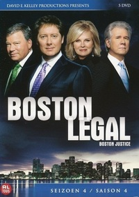 Boston Legal - Seizoen 4-DVD