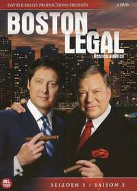 Boston Legal - Seizoen 5-DVD