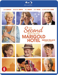 The Second Best Exotic Marigold Hotel-Blu-Ray