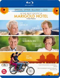 The Best Exotic Marigold Hotel-Blu-Ray