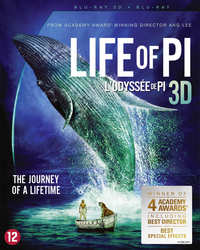 Life Of Pi (3D En 2D Blu-Ray)-3D Blu-Ray