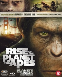 Planet Of The Apes (1968) & (2011)-Blu-Ray