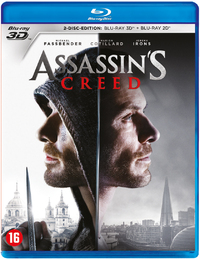 Assassin's Creed (3D En 2D Blu-Ray + DVD)-3D Blu-Ray