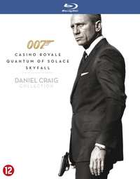 007 Daniel Craig Collection-Blu-Ray