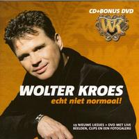 Echt Niet Normaal + DVD-Wolter Kroes-CD