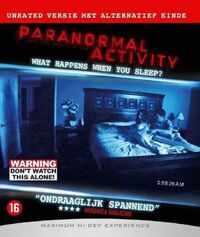 Paranormal Activity-Blu-Ray