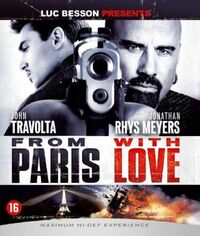 From Paris With Love-Blu-Ray