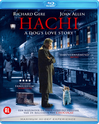 Hachi, A Dog's Love Story-Blu-Ray