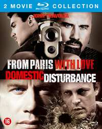 From Paris With Love/Domestic Disturbance-Blu-Ray