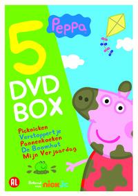 Peppa - 5 DVD Box-DVD