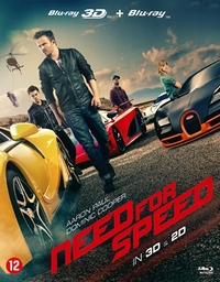 Need For Speed (3D + 2D Blu-Ray)-3D Blu-Ray