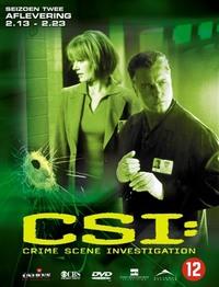 Crime Scene Investigation - Seizoen 2: Afl. 2.13-2.23-DVD