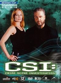 Crime Scene Investigation - Seizoen 5: Afl. 5.1-5.12-DVD