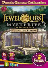 Jewel Quest Mysteries 3 - The Seventh Gate-PC CD-DVD