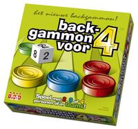 Backgammon  voor 4-