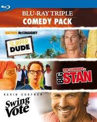 Triple Comedy Pack-Blu-Ray