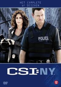Csi New York - Seizoen 6-DVD