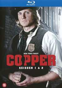 Copper - Seizoen 1 & 2-Blu-Ray