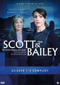 Scott & Bailey: Seizoen 1-4-DVD