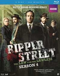 Ripper Street - Seizoen 4-Blu-Ray