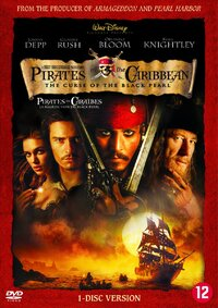 Pirates Of The Caribbean 1: The Curse Of The Black Pearl-DVD