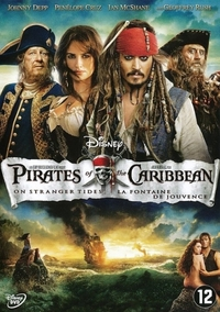 Pirates Of The Caribbean 4: On Stranger Tides-DVD