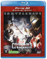 Captain America - Civil War (3D En 2D Blu-Ray)-3D Blu-Ray