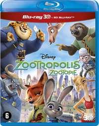 Zootropolis (3D En 2D Blu- Ray)-3D Blu-Ray