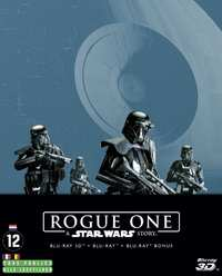 Rogue One - A Star Wars Story - (Steelbook 3D + 2D Blu-Ray)-3D Blu-Ray
