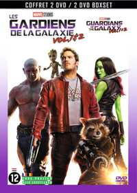 Guardians Of The Galaxy 1-2-DVD