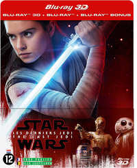 Star Wars Episode VIII - The Last Jedi (Steelbook 3D + 2D Blu-Ray)-3D Blu-Ray