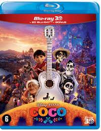 Coco (3D En 2D Blu-Ray + DVD)-3D Blu-Ray