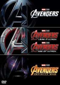 Avengers 1-3-DVD
