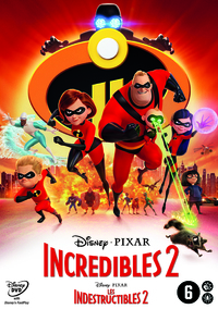 Incredibles 2-DVD