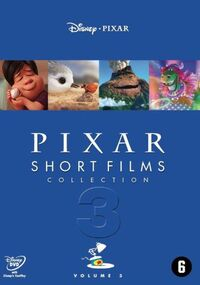Pixar Short Films Collection 3-DVD