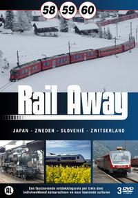 Rail Away 58, 59, 60-DVD
